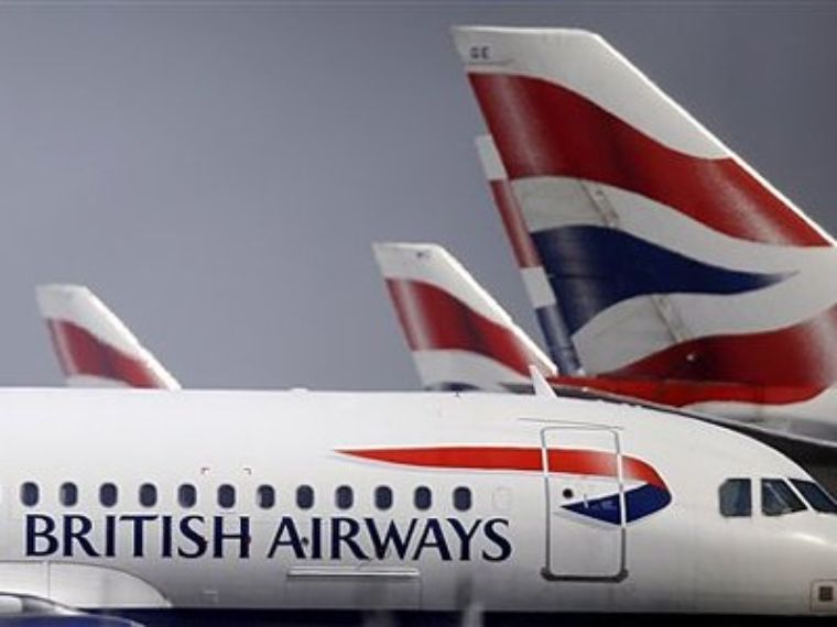 Estalla primera de tres huelgas en British Airways