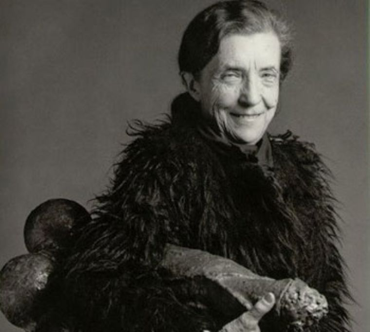 Retrato: Louise Bourgeois