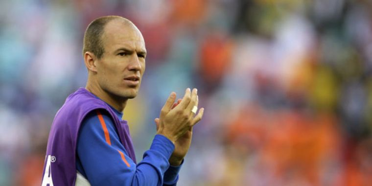 Es posible que juegue: Robben
