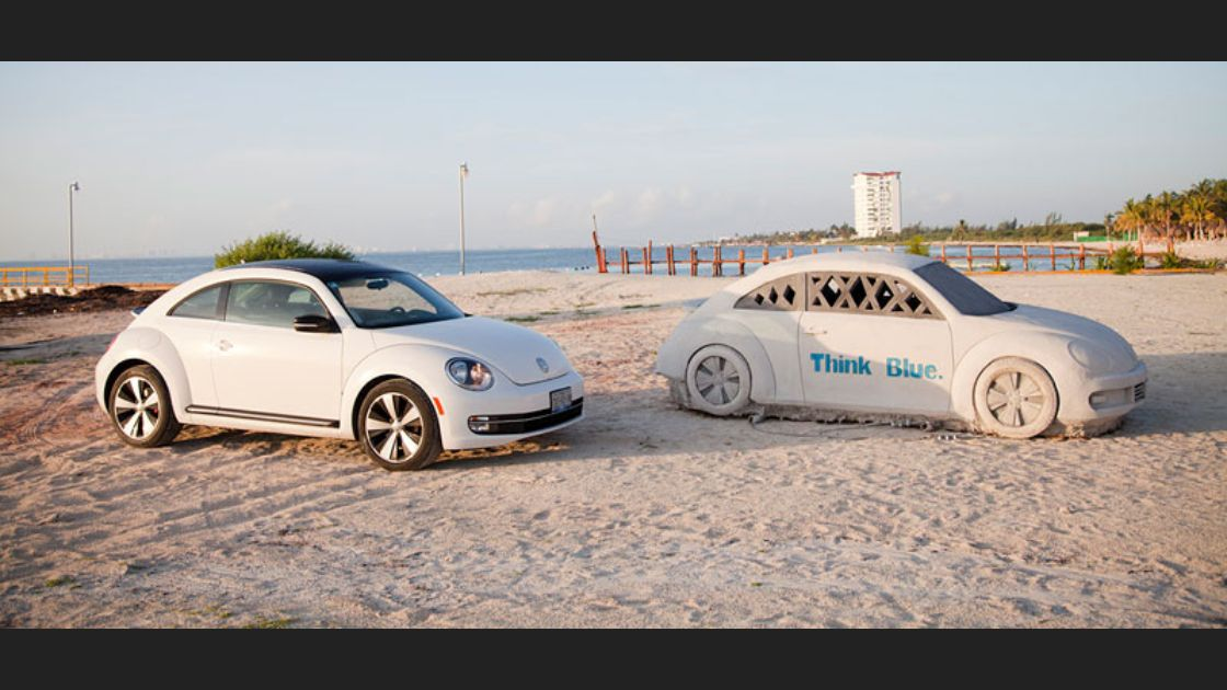 Volkswagen crea arrecife con The New Vocho