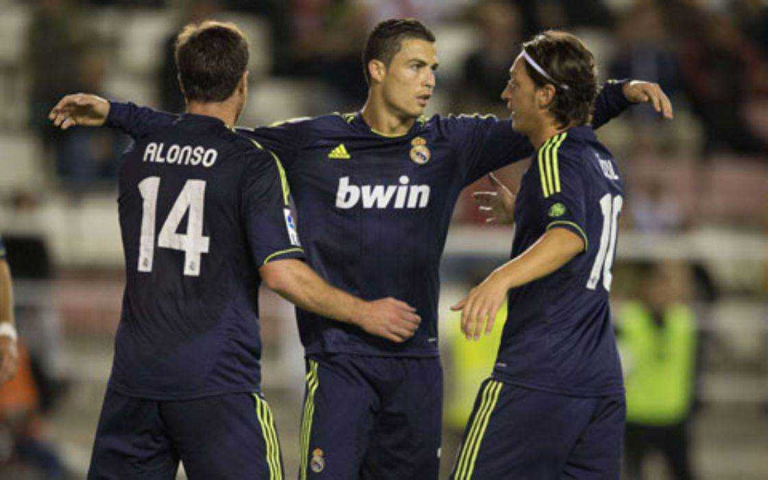 Real Madrid vence al Rayo Vallecano