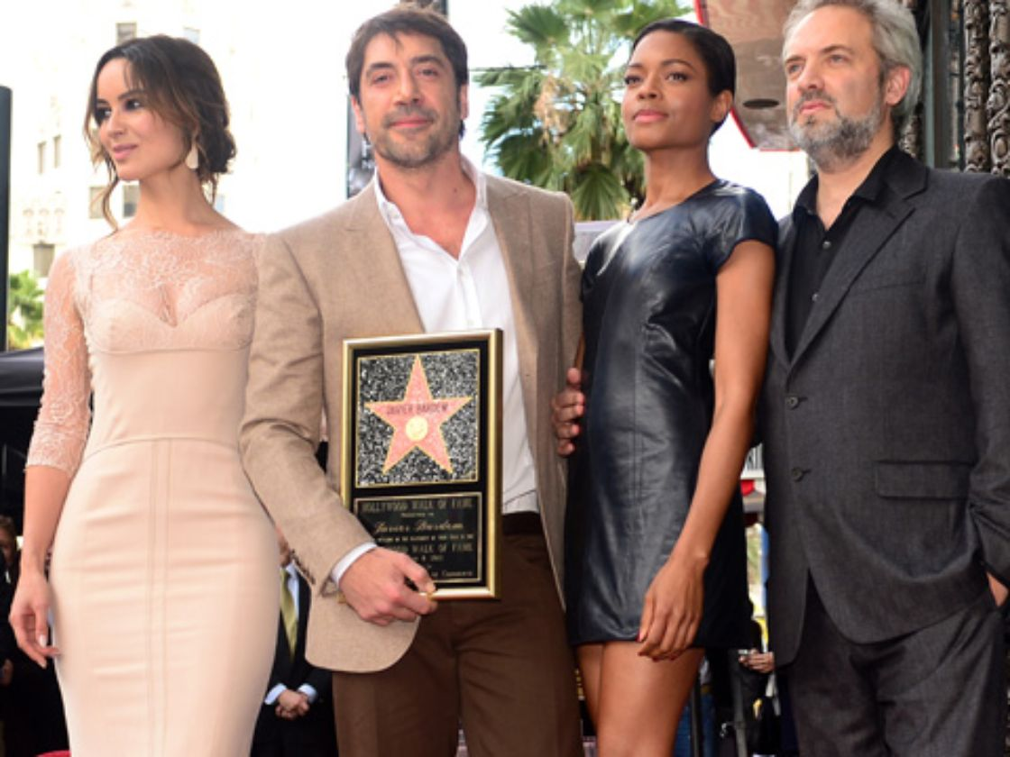 Bardem devela estrella en Hollywood