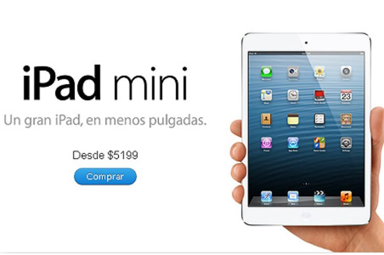 Apple inicia venta online de iPad Mini en México