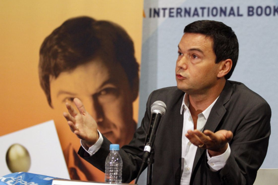 Piketty presenta El capital en la FIL