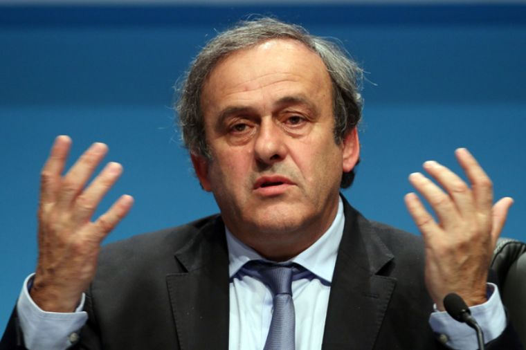 Confirman suspensión de Platini