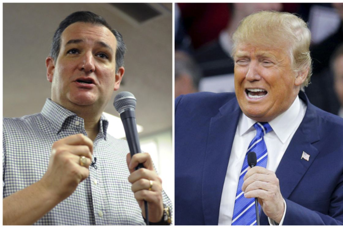 Ted Cruz y Iowa, el primer examen de Trump