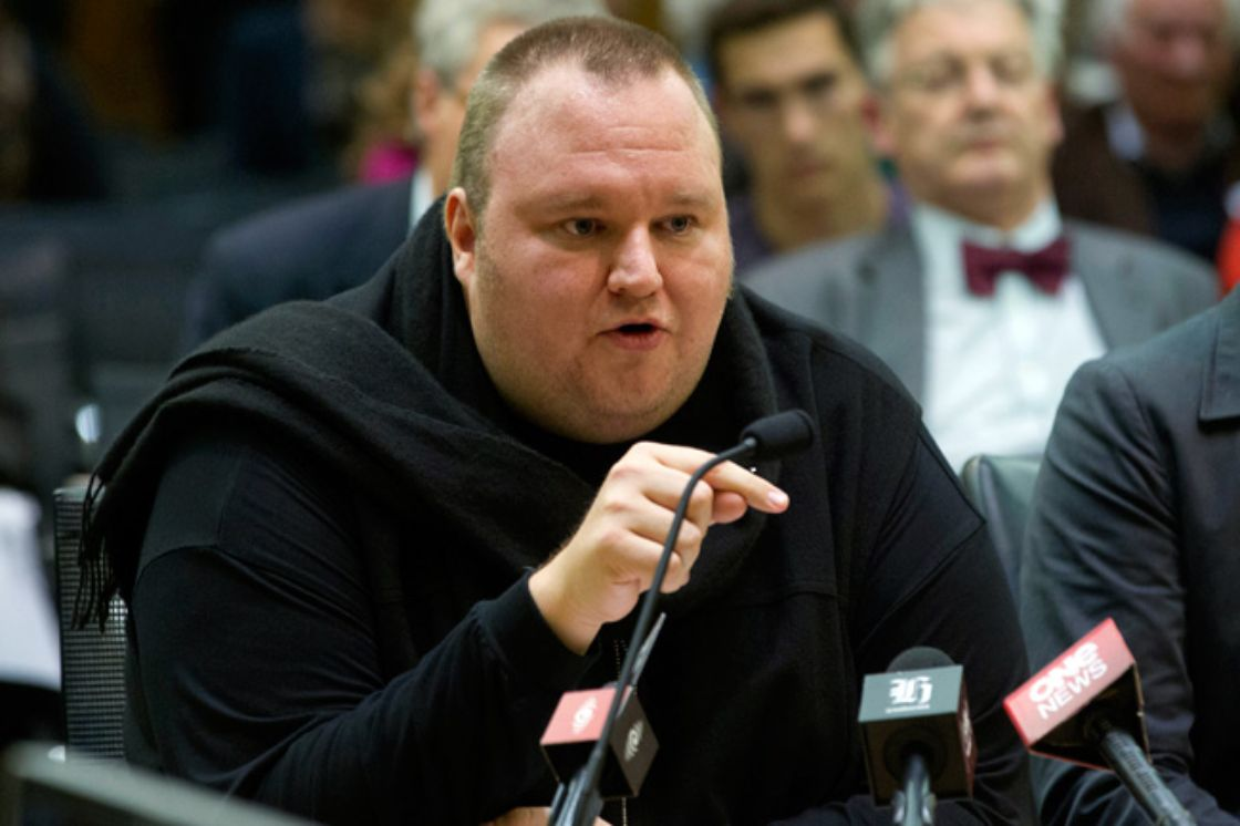 Kim Dotcom pide que su audiencia sea en streaming