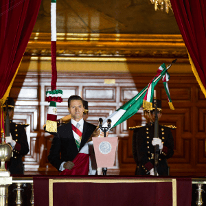 Ceremonia del Grito de Independencia