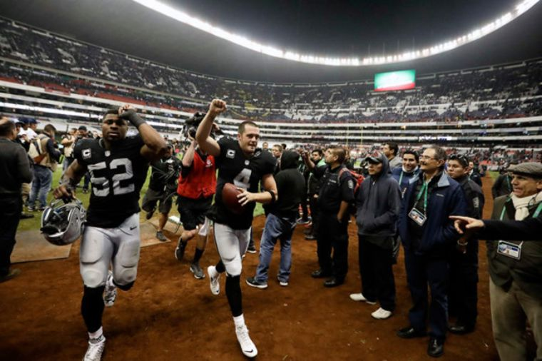 Confirman Pats vs Raiders en México