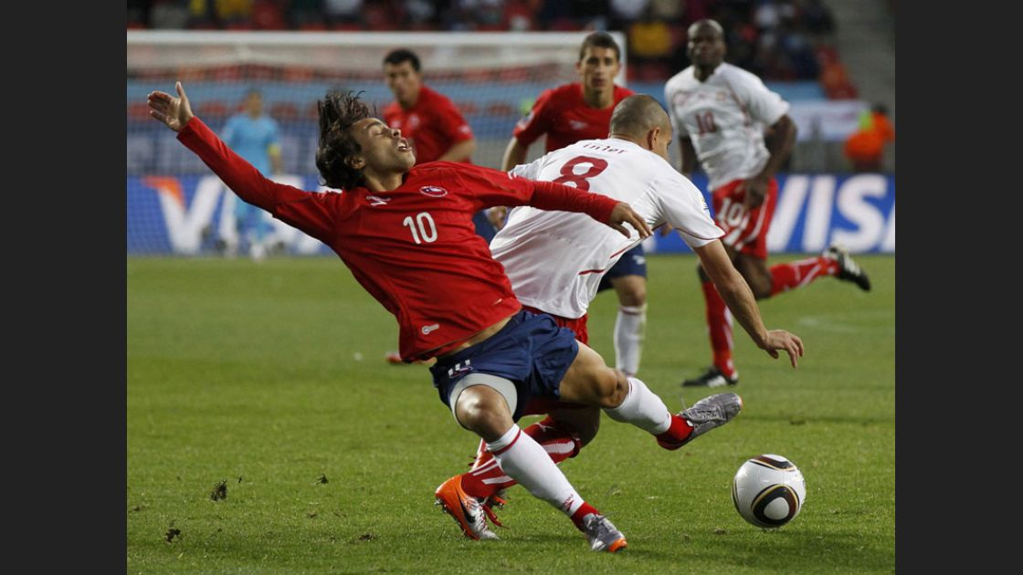 Chile 1-0 Suiza