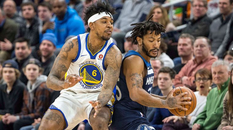 Timberwolves derrota a los Warriors