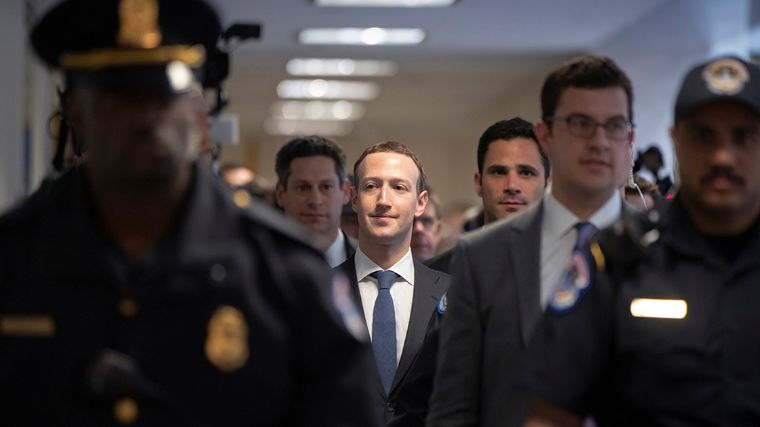 Zuckerberg se ve como culpable