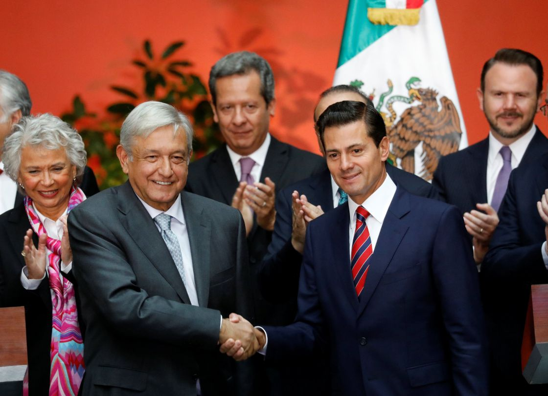 Image result for epn amlo reuters