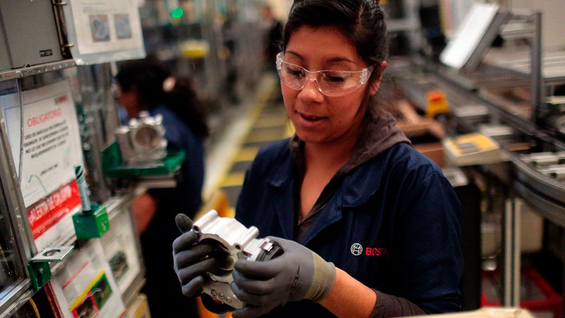 Mexico would climb to fourth place in production of auto parts