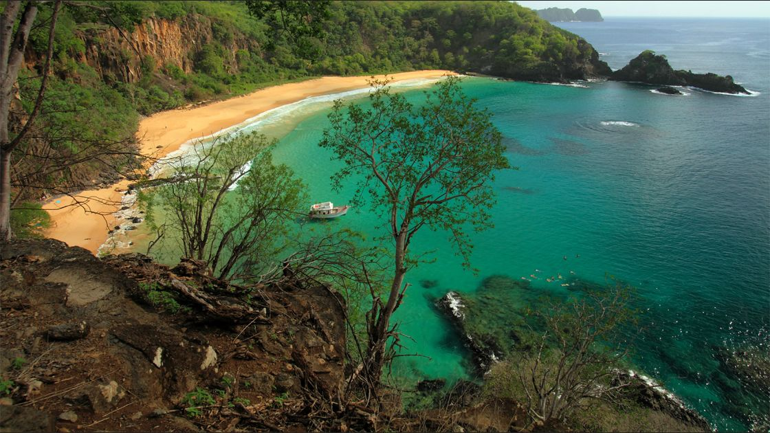 Baia do Sancho. Fernando de Noronha, Brasil. Foto: Flickr / Mathieu Bertrand Struck.