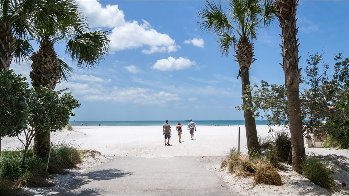 Clearwater Beach Clearwater, Florida. Foto: Flickr / dconvertini.