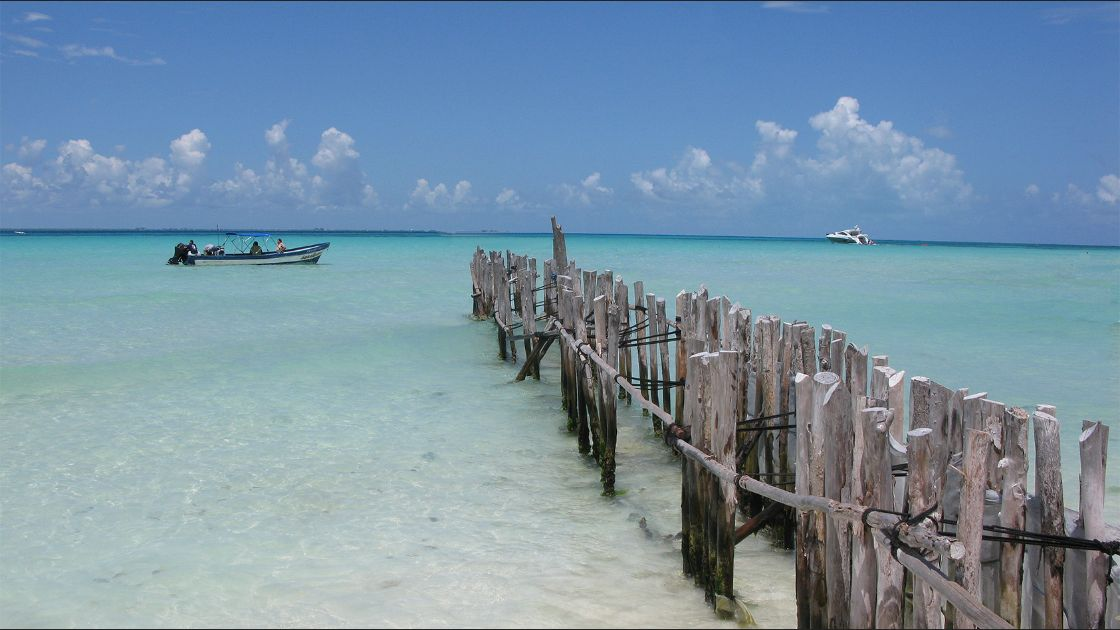 Playa Norte. Isla Mujeres. Foto: Flickr / cat.