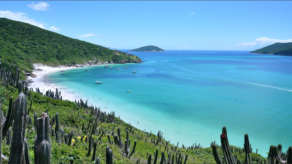 Prainhas do Pontal do Atalaia Arraial do Cabo, Brasil. Foto: Flickr / Leonardo Shinagawa.