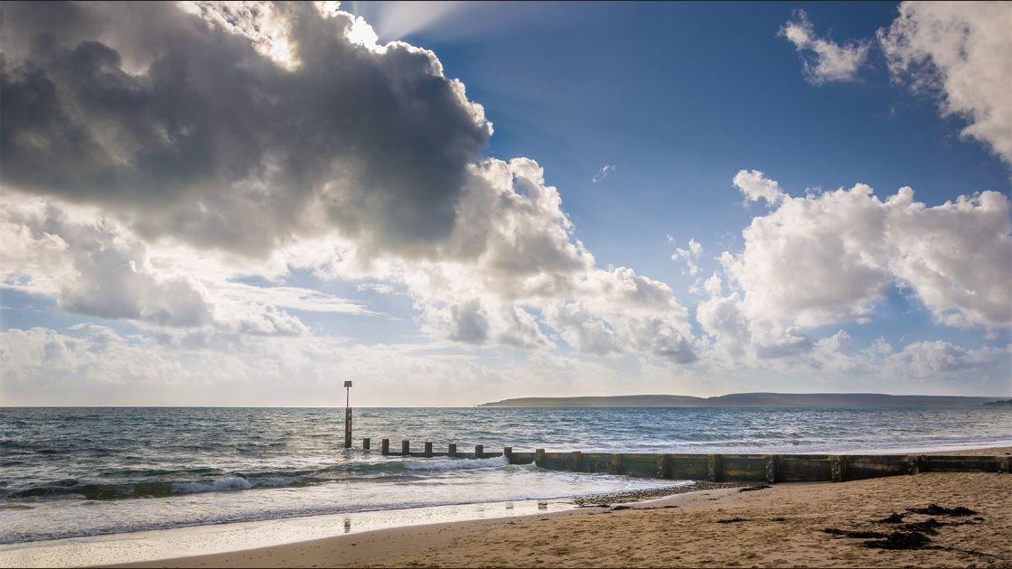 Bournemouth Beach Bournemouth, Reino Unido. Foto: Flickr / Andrew Foster.