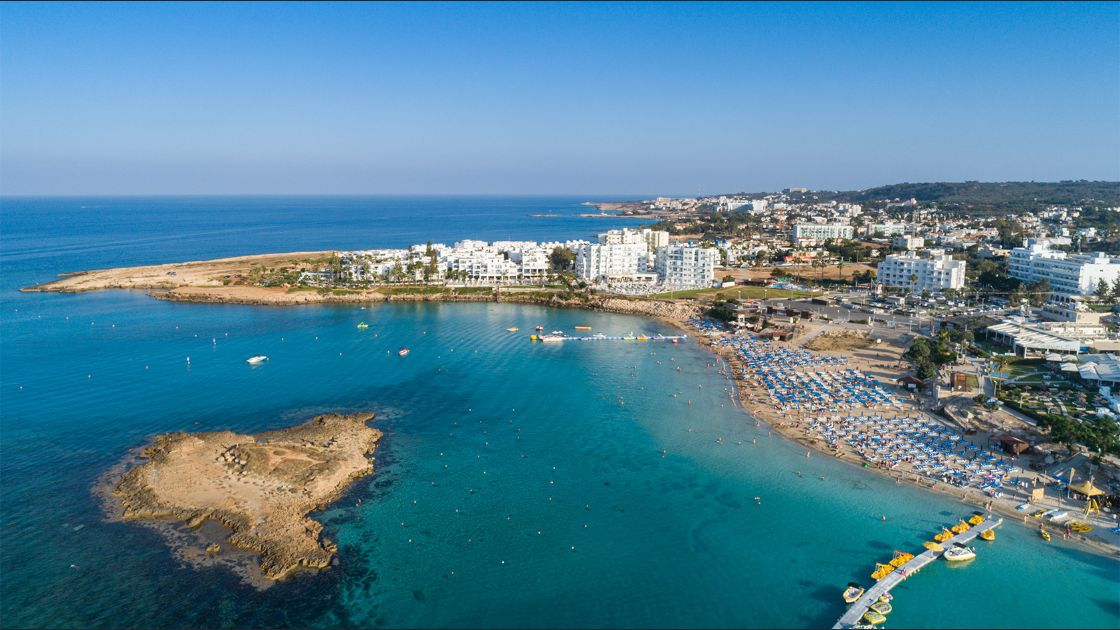 Fig Tree Bay Protaras, Chipre. Foto: Flickr / dronepicr.