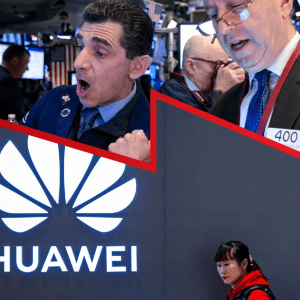 Disputa entre China y EU por Huawei desploma a Wall Street
