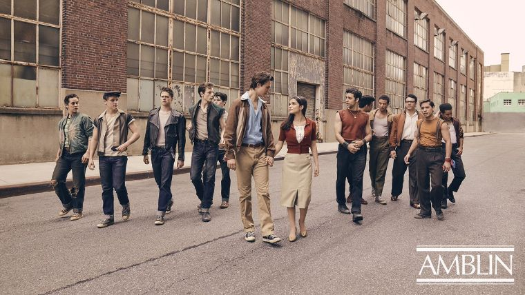 Los Jets y Sharks en la nueva adaptación cinematográfica de West Side Story. Foto: Amblin Entertainment