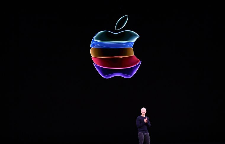 Tim Cook, presidente de Apple. Foto: AFP