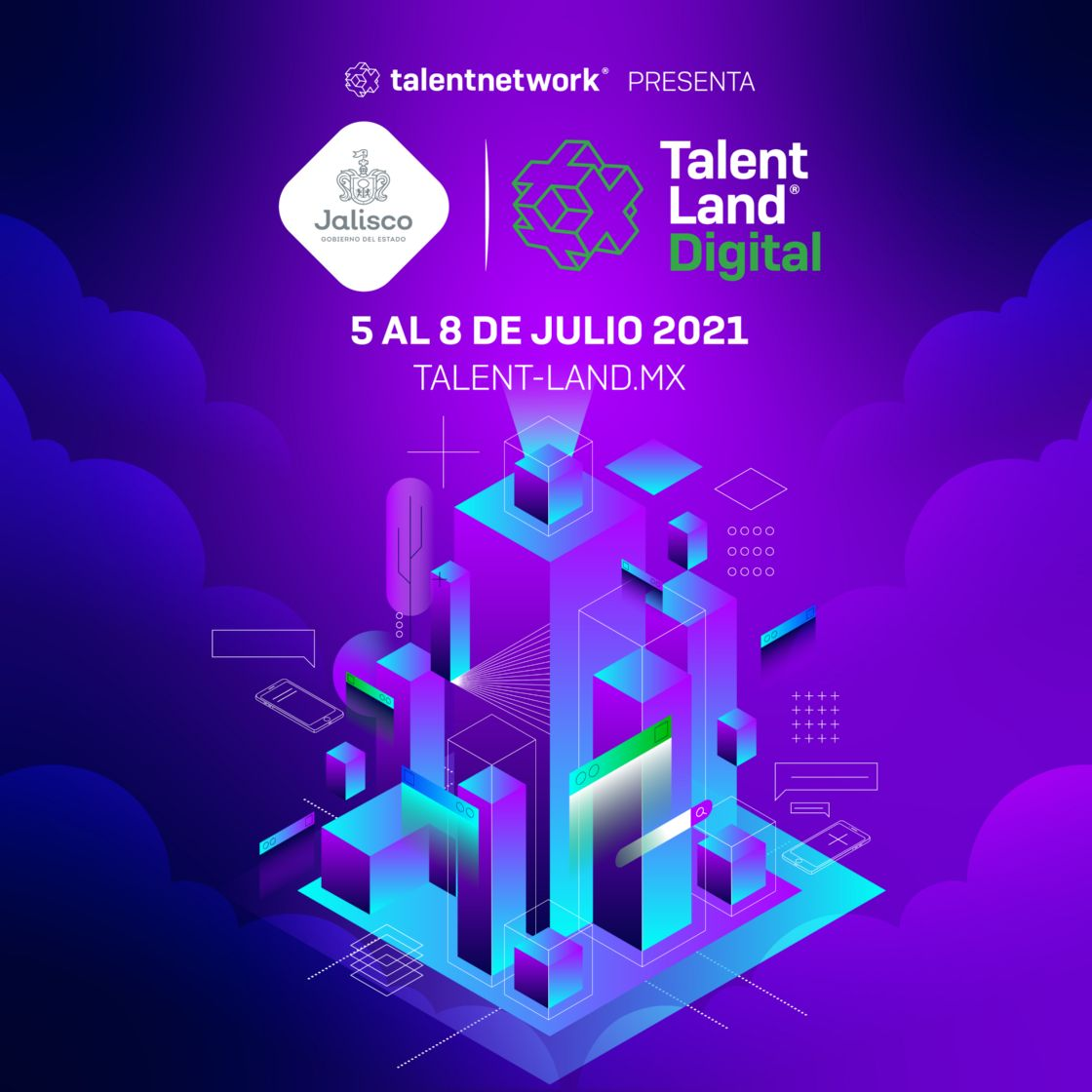Jalisco invertirá 16 millones de pesos en Talent Land Digital 2021